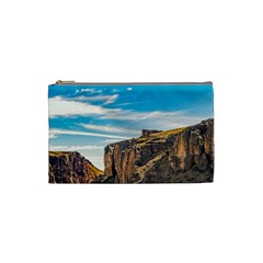 Rocky Mountains Patagonia Landscape   Santa Cruz   Argentina Cosmetic Bag (Small)