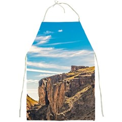 Rocky Mountains Patagonia Landscape   Santa Cruz   Argentina Full Print Aprons