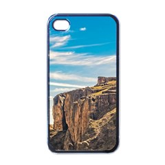 Rocky Mountains Patagonia Landscape   Santa Cruz   Argentina Apple iPhone 4 Case (Black)
