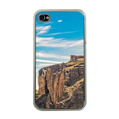 Rocky Mountains Patagonia Landscape   Santa Cruz   Argentina Apple iPhone 4 Case (Clear)