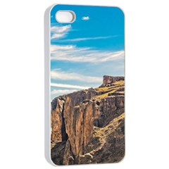 Rocky Mountains Patagonia Landscape   Santa Cruz   Argentina Apple iPhone 4/4s Seamless Case (White)