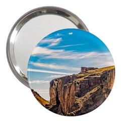 Rocky Mountains Patagonia Landscape   Santa Cruz   Argentina 3  Handbag Mirrors