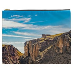Rocky Mountains Patagonia Landscape   Santa Cruz   Argentina Cosmetic Bag (XXXL)