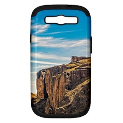 Rocky Mountains Patagonia Landscape   Santa Cruz   Argentina Samsung Galaxy S III Hardshell Case (PC+Silicone)