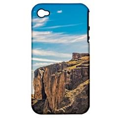Rocky Mountains Patagonia Landscape   Santa Cruz   Argentina Apple iPhone 4/4S Hardshell Case (PC+Silicone)