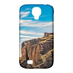 Rocky Mountains Patagonia Landscape   Santa Cruz   Argentina Samsung Galaxy S4 Classic Hardshell Case (PC+Silicone)