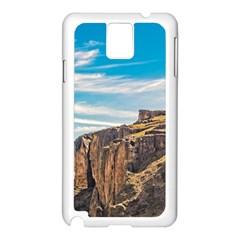 Rocky Mountains Patagonia Landscape   Santa Cruz   Argentina Samsung Galaxy Note 3 N9005 Case (White)