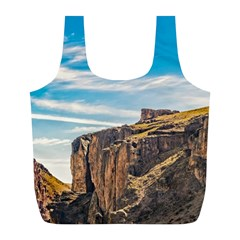 Rocky Mountains Patagonia Landscape   Santa Cruz   Argentina Full Print Recycle Bags (L)