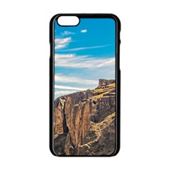 Rocky Mountains Patagonia Landscape   Santa Cruz   Argentina Apple iPhone 6/6S Black Enamel Case