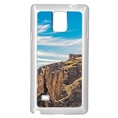 Rocky Mountains Patagonia Landscape   Santa Cruz   Argentina Samsung Galaxy Note 4 Case (White)