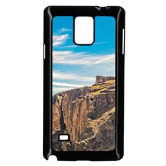Rocky Mountains Patagonia Landscape   Santa Cruz   Argentina Samsung Galaxy Note 4 Case (Black)