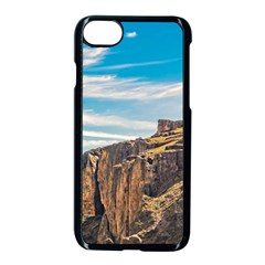 Rocky Mountains Patagonia Landscape   Santa Cruz   Argentina Apple iPhone 7 Seamless Case (Black)