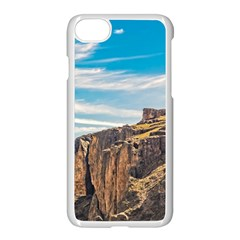 Rocky Mountains Patagonia Landscape   Santa Cruz   Argentina Apple iPhone 7 Seamless Case (White)