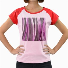 Abstraction Women s Cap Sleeve T-Shirt