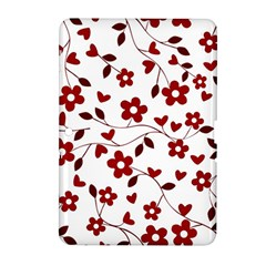 Floral pattern Samsung Galaxy Tab 2 (10.1 ) P5100 Hardshell Case
