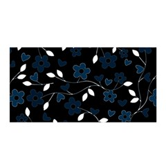 Floral pattern Satin Wrap