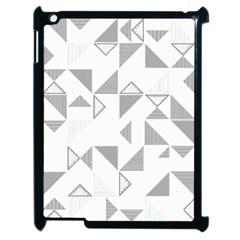 Pattern Apple iPad 2 Case (Black)