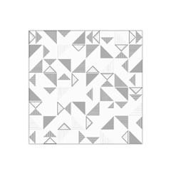 Pattern Satin Bandana Scarf