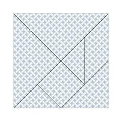 Pattern Acrylic Tangram Puzzle (6  x 6 )