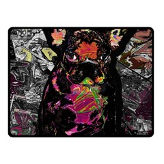 Bulldog Fleece Blanket (Small)