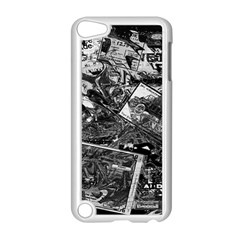 Vintage newspaper  Apple iPod Touch 5 Case (White)