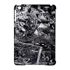 Vintage newspaper  Apple iPad Mini Hardshell Case (Compatible with Smart Cover)