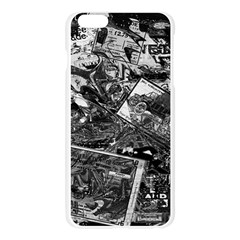 Vintage newspaper  Apple Seamless iPhone 6 Plus/6S Plus Case (Transparent)
