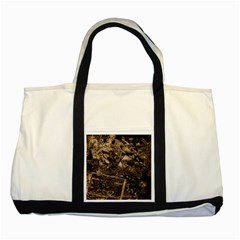 Vintage newspaper  Two Tone Tote Bag