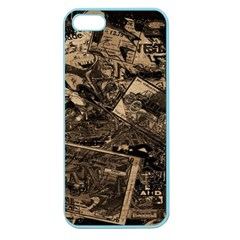 Vintage newspaper  Apple Seamless iPhone 5 Case (Color)