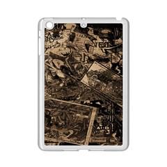 Vintage newspaper  iPad Mini 2 Enamel Coated Cases