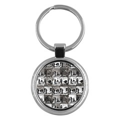 Comic book  Key Chains (Round)