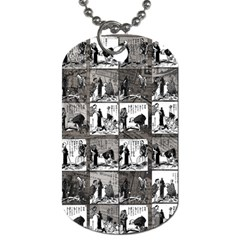 Comic book  Dog Tag (Two Sides)