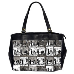 Comic book  Office Handbags (2 Sides)