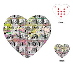 Comic book  Playing Cards (Heart)