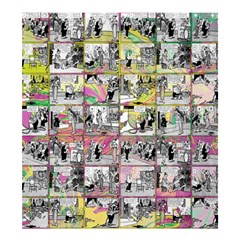 Comic book  Shower Curtain 66  x 72  (Large)