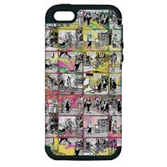 Comic book  Apple iPhone 5 Hardshell Case (PC+Silicone)