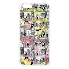 Comic book  Apple Seamless iPhone 6 Plus/6S Plus Case (Transparent)