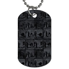 Comic book  Dog Tag (One Side)