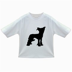 Chinese Crested Silo Black Infant/Toddler T-Shirts