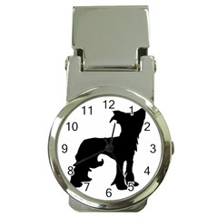 Chinese Crested Silo Black Money Clip Watches