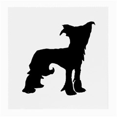 Chinese Crested Silo Black Medium Glasses Cloth (2-Side)