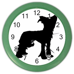Chinese Crested Silo Black Color Wall Clocks