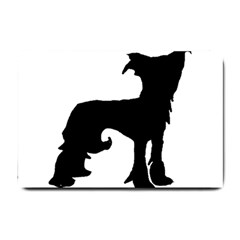 Chinese Crested Silo Black Small Doormat