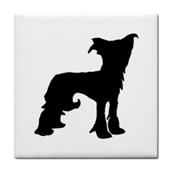 Chinese Crested Silo Black Face Towel