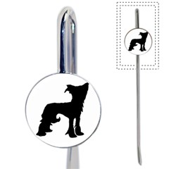 Chinese Crested Silo Black Book Mark