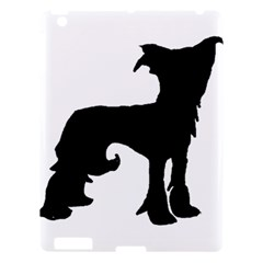 Chinese Crested Silo Black Apple iPad 3/4 Hardshell Case