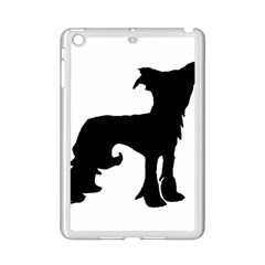 Chinese Crested Silo Black iPad Mini 2 Enamel Coated Cases