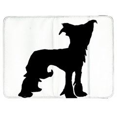 Chinese Crested Silo Black Samsung Galaxy Tab 7  P1000 Flip Case
