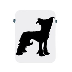 Chinese Crested Silo Black Apple iPad 2/3/4 Protective Soft Cases