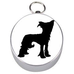Chinese Crested Silo Black Silver Compasses